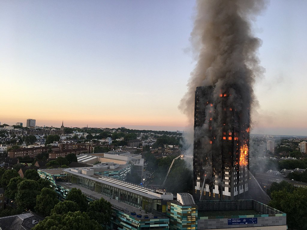 Flammable cladding spread an apartment fire up the entire Grenfell building in London. Similar cladding is being used on dozens of buildings in Auckland and Wellington.